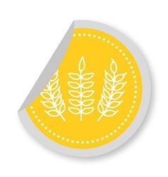 Gluten product vector