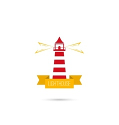 Icons lighthouse vector