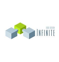 Techno logo design template vector
