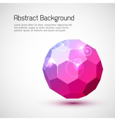 Abstract 3-dimensional background vector