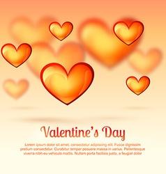 Valentine day greeting vector