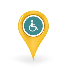 Disabled location vector
