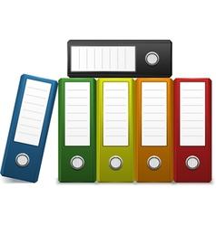 Office binder vector