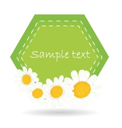 Daisy label vector