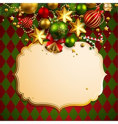 Beautiful christmas background vector