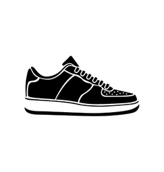 Sport clothing white footwear fashion isolated vector
