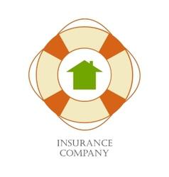 Insurance company sign vector