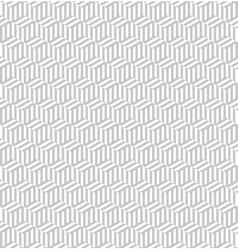 Seamless pattern with cubes repeating modern vector