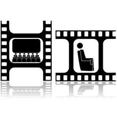 Movies vector