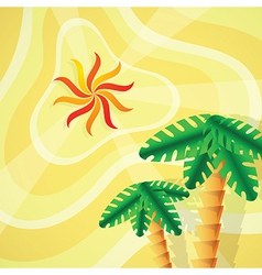 Tropical setting vector