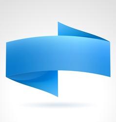 Blue banner vector