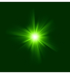 Green color design with a burst eps 8 vector