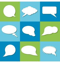 Communication bubbles vector