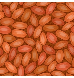 Red seed coat seamless background vector