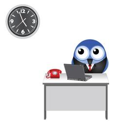 Clock watching vector