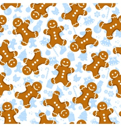 Gingerbread pattern vector
