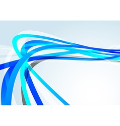 Blue transparent lines speed background vector