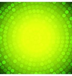 Abstract circular yellow background vector