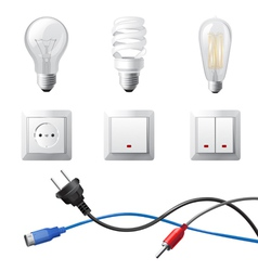 Home electricity vector