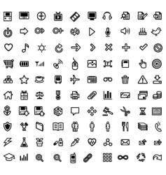 General purpose icons vector