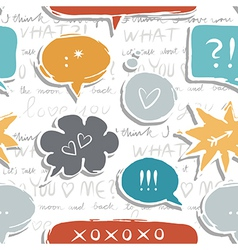 Set of communication bubbles vector