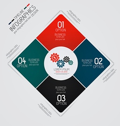 Design infographics 4 vector