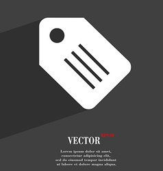 Special offer label icon symbol flat modern web vector