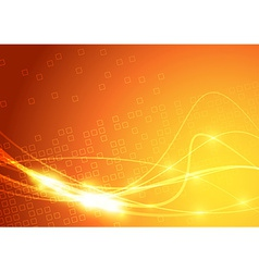 Bright swoosh lines sparkling background vector