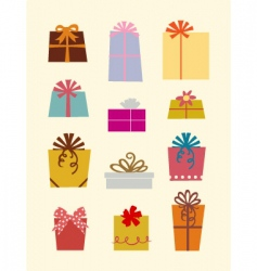 Gift box's vector