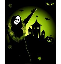 Halloween night holiday vector