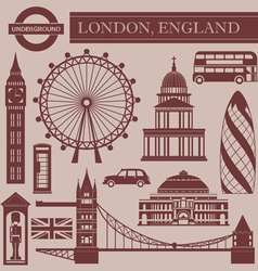 Landmark of london vector