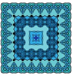 Ornament kvadrat 380 vector