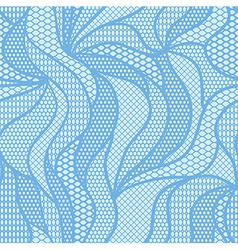 White lace fabric seamless pattern vector