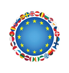 European union sign vector