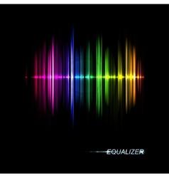 Music equalizer vector