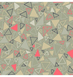 Geometric pattern seamless background with vector