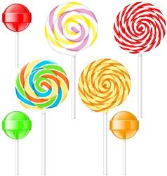 Lollipops vector