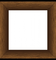 Wood board vector