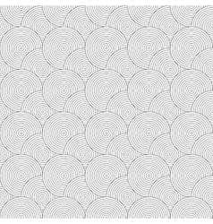 Seamless pattern with circles repeating modern vector