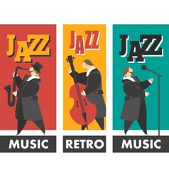 Jazz band vector
