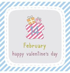 Happy valentine s day card7 vector
