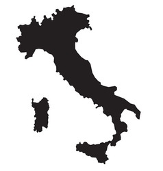 Italy map2 resize vector