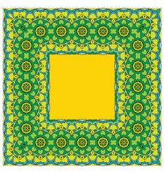 Ornament kvadrat 2 380 vector