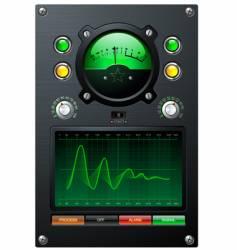 Volume meter vector