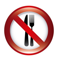 Dont food design vector