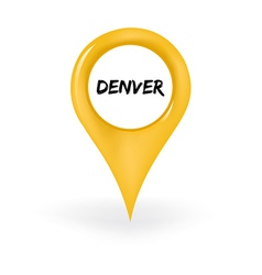 Location denver vector