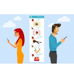 Social networking vector
