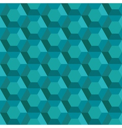 Abstract emerald pattern vector