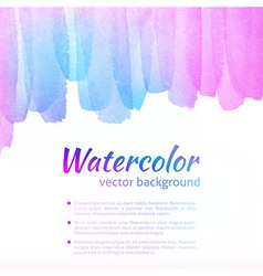 Watercolor colorful background vector