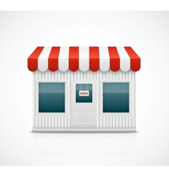 Business stall vector